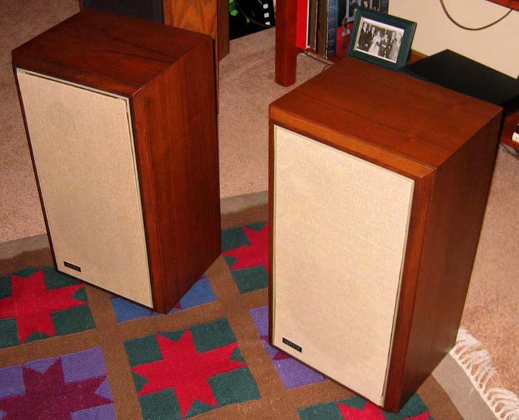 Large advent speakers specs