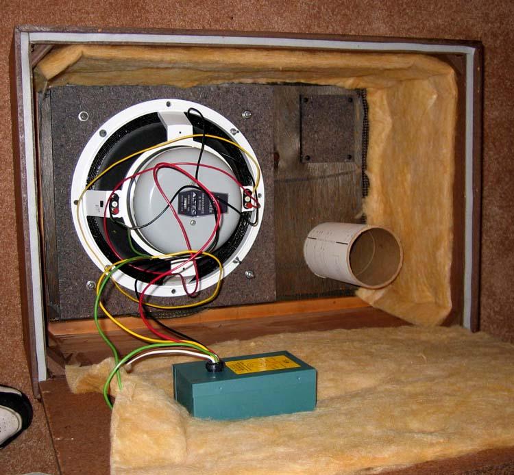Altec 601 8D speaker and Acousti craft cabinetVintage 70 s Stereo System. Restoring Old Speaker Cabinets. Home Design Ideas