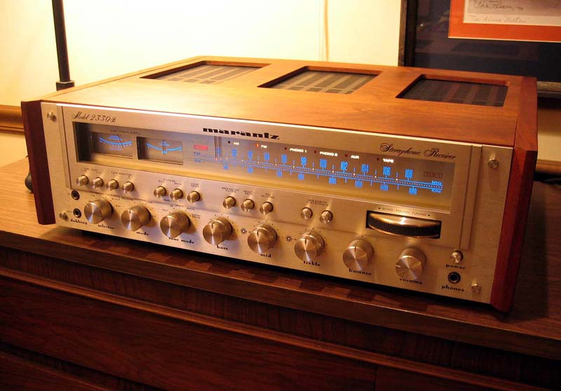 Vintage 70s Stereo System
