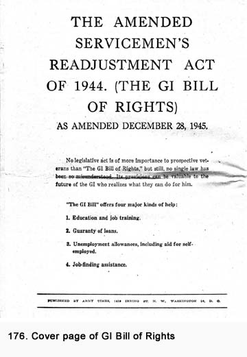 What is the G.I. Bill of Rights?
