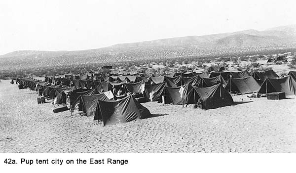 Pup Tent City Mojave Desert  sc 1 st  Gallagher Story & World War II Story - Camp Irwin - Chapter 6 - Gallagher